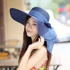 2016 Straw Hats For Women's Female Summer Ladies Wide Brim Beach Hats Sexy Chapeau Large Floppy Sun Caps