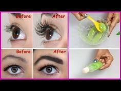 How To Grow Long, Thick Eyelashes & Eyebrows In Just 3 Days | Eyelash And Eyebrow Serum – Be Extra Healthy