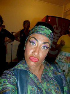 ...selfies black cast...Hairspray...