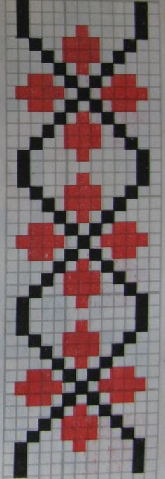 Beaded jewellery making Cross Stitch Numbers, Cross Stitch Borders, Cross Stitch Designs, Cross Stitching, Cross Stitch Patterns, Baby Boy Knitting Patterns, Knitting Charts, Bead Loom Patterns, Beading Patterns