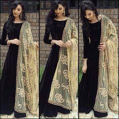 Shop Reyansh Fashion Designer Black Silk Anarkali Suit by Reyansh Fashion online. Largest collection of Latest Anarkalis online. ✻ 100% Genuine Products ✻ Easy Returns ✻ Timely Delivery