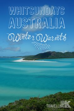 The Whitsundays is a stunning part of Australia. It's in Queensland between Brisbane and Cairns. Whitehaven beach is in the Whitsundays area. It's a National Park with sand that is 98% pure silica and beautiful beyond belief.