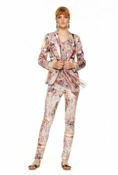 Coordinato stampato dalla collezione primavera estate 2014 di abbigliamento Kocca.