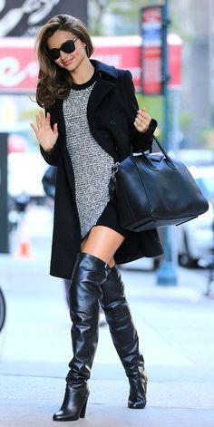 Ankle, média e cuissard: Gloria Kalil ensina como usar os três modelos de botas que vão aquecer este inverno   Chic - Gloria Kalil: Moda, Beleza, Cultura e Comportamento