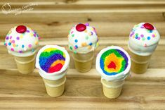 rainbow ice cream | Thanks again to Paityn for coming and making another video with us!!