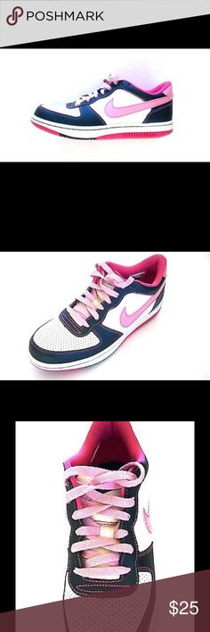 Nike women's Hot Pink White and Black Sneakers 9.5 Nike women's Hot Pink, White and Black Sneakers size 9.5. Nike Shoes Sneakers