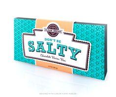 Clean Break Novelty Candy Packaging by Kathy Mueller, via Behance