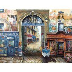 Puzzle 1500 pièces : Passage à Paris RAVENSBURGER - Puzzle adulte