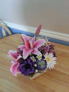 Spring Silk Floral Arrangement-Valentines-Easter-Mothers Day or Just Because