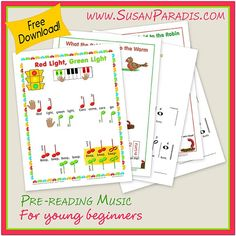 Pre-Reading Music for Young Beginners Bundle