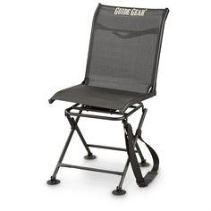 Guide Gear® 360° Comfort Swivel Blind Chair, Black