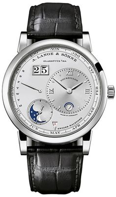 A Lange & Sohne Lange 1 Tourbillon Perpetual Calender Mens Wristwatch Model 720.025 Retail Price	 	$341,900.00 .....OR a house, 8 cars, a cabin with snow mobiles, a pool.... Decisions, decisions.