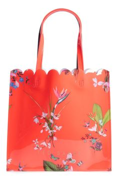 f8403ca31e3b TED BAKER LONDON Large Icon - Tropical Oasis Tote #TEDBAKERLONDON #Tote  Knitted Bags,