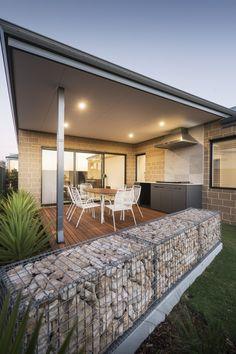 #alfresco #backyard #stonework #bbq #outdoordining #garden #outdoorliving
