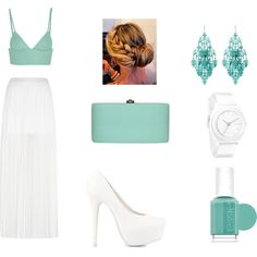 #Restaurant 2 by maanoondesmet on Polyvore featuring mode, T By Alexander Wang, River Island, Nly Shoes, Rocio, Nixon, Amrita Singh and Essie