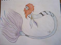 Just a weird mermaid thing.