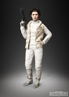 Star Wars Battlefront Leia Organa Han Solo, Leia, and Emperor Palpatine Join Star Wars Battlefront
