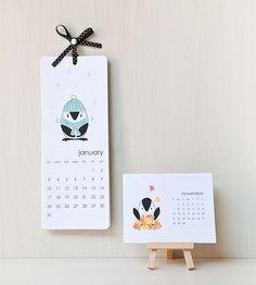 Printable Calendars by decor8, via Flickr