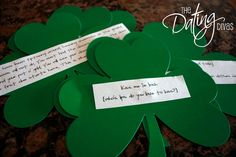 St. Patty's Scavenger Hunt