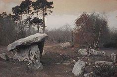 Dolmen de Quelarn.  Brittany