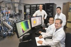 MDC Vacuum Products Published by Eric Croft · 17 mins ·  Scientists at the Brookhaven National Laboratory have discovered a new surprising behavior of electrons in a high-temperature superconducting (HTS) material. The strange behavior was detected in copper-oxide (cuprate) superconductors. It was expected that electrons would flow uniformly parallel to layers within the HTS material, but this study shows that electrons seem to spontaneously 'choose' their own paths through the material.