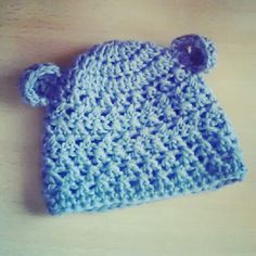 Crochet Baby Bear Hat - reetneatcreations.blog.com