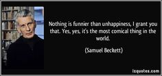 Nothing Is Funnier ... - Beckett