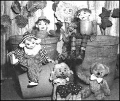 How Retro.com: Andy Pandy. First childhood love. Andy Pandy and I later introduced him to 'The Child'.