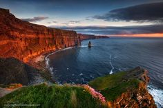 Moher Sunset by Stephen Emerson on 500px