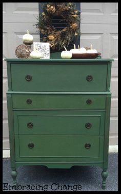 Boxwood Beauty   Miss Mustard Seedu0027s Milk Paint In Boxwood   Embracing  Change