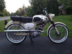 Rebuilt and customized 1964 Suzuki K11P