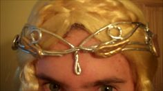 DIY Cheap and Easy Galadriel Lord of the Rings Crown Cosplay Tutorial