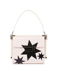 Roger Vivier Miss Viv Carre Small Stars Frame Bag 8bbc5f593f41e