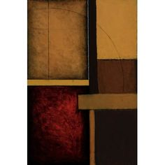 """East Urban Home 'Gateways I' Painting Print on Canvas Size: 26"""" H x 18"""" W x 1.5"""" D"""