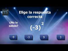 Quiz sobre potencias - Elige la respuesta - YouTube