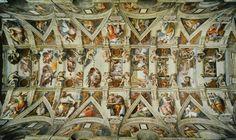 Sistine Chapel Ceiling  by Michelangelo