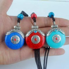 High quality Resin Wax Pendants Necklace Imitation Honey Water Drop Nepal india Amulet Tibetan silver Necklaces free shipping-in Pendant Necklaces from Jewelry & Accessories on Aliexpress.com | Alibaba Group