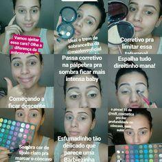 YouTube.com/FrancielleDiasRufino92/ maquiagem passo a passo, make