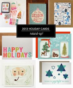 Poppytalk: 2013 Holiday Cards
