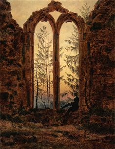 Caspar David Friedrich, The Dreamer, c. 1840