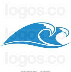 wave border clip art clipart best logo inspiration pinterest rh pinterest com waves clipart png wave clip art images