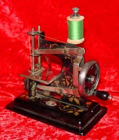 Sewing machines, fine Victorian Machine Design