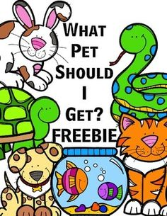 What Pet Should I Get? Freebie