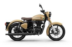 Royal Enfield Classic Signals 350 Photos ( Stormrider Sand Color Option) Check out below photos of Royal Enfield Classic Signals Enfield Bike, Enfield Motorcycle, Motorcycle Style, Women Motorcycle, Motorcycle Helmets, Royal Enfield Classic 350cc, Royal Enfield Wallpapers, Bullet Bike Royal Enfield, Royal Enfield Accessories