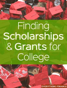 Finding Scholarships and Grants for College It's important to look for scholarships and grants for college in order to save money. Learn about the application process for finding gift aid for college. - College Scholarships Tips Grants For College, College Fund, Financial Aid For College, Saving For College, College Hacks, Scholarships For College, Education College, College Life, College Students