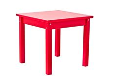 Classic Red Children Table by Hoppekids