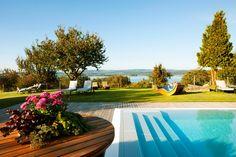 Hotel am Bodensee mit Wellness, Außenpool, Seeblick