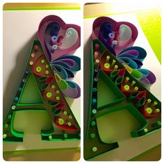 Quilling A Letter