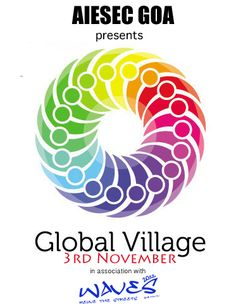 Global Village by AIESEC Goa during WAVES!!!