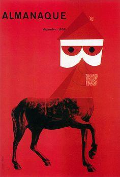 Sebastião Rodrigues   Cover for magazine Almanaque. 170mm x 250mm. 1959 Magazine Cover Design, Magazine Covers, Book Design, Design Art, Chef D Oeuvre, Graphic Design Illustration, Editorial Design, Art And Architecture, Les Oeuvres